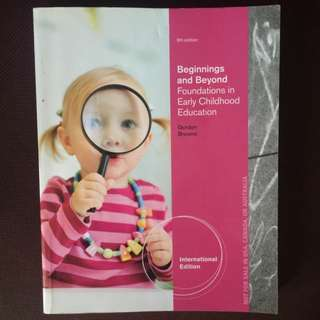 Beginning And Beyonc Foundations In Early Childhood Education Gordon Browne