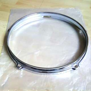 "Chrome Steel Acoustic Drum Hoop / Rim 10"" x 5 Lugs - Brand New"