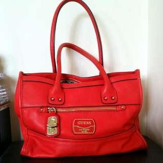 Orange Guess Handbag