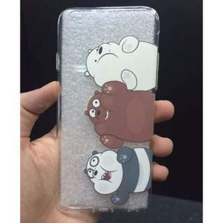 「現貨」 we bare bears  熊熊遇見你 手機殼 iphone Ice Bear Grizzly Panda