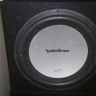 "Rockfotd Fosgate P1 12"" Subwoofer With Box"