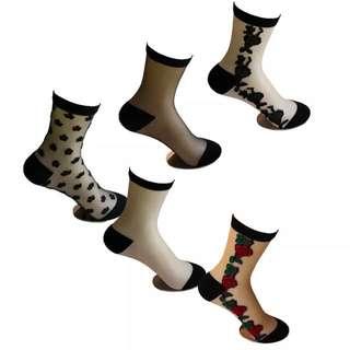 透膚襪子 系列