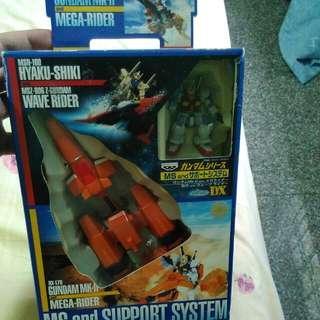 Dx Ms & Support System Gundum Mk2 N Mega Rider