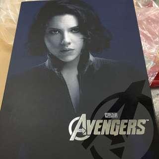 Hot Toys MMS 178: Avengers Black Widow [Back in Box]