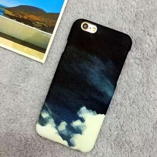 ✨現貨免運✨塗鴉 暈染 水墨 質感 磨砂iPhone 手機殼