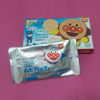 日本麵包超人防蚊貼