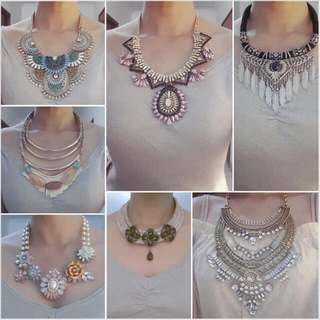 Ready Stock Statement Necklace Termurah