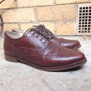 JO MERCER Leather Oxford