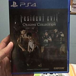 Resident Evil Origin Collections