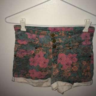 Ally Denim Shorts
