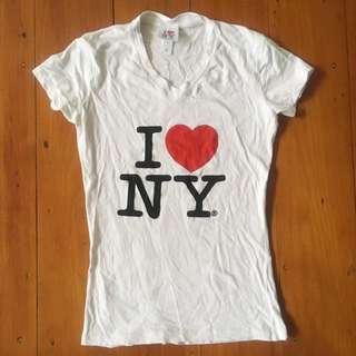 genuine I ❤️ NY tee