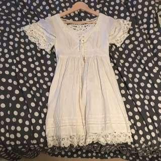 Size XS Lace Folk Dress