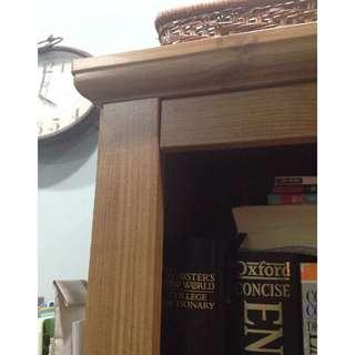潔癖者使用過的 IKEA 書櫃-1