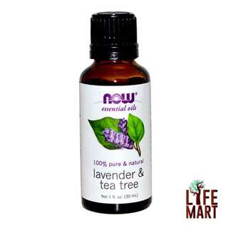Now Foods, Lavender & Tea Tree Essential Oil (30ml)