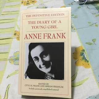 "Anne Frank ""The Diary Of A Young Girl"""