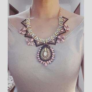 Boho Glam Statement Necklace