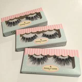 3pk House of Lashes in Siren