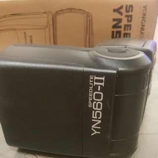 永諾 yn-560 II 第二代 閃燈 送柔光罩