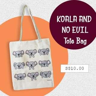 Koala And No Evil Tote #dirty30