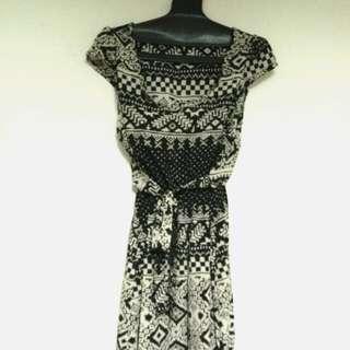 幾何圖騰洋裝