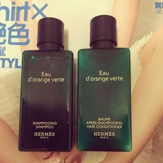 HERMES洗潤髮組+Darphin全效舒緩洗面乳