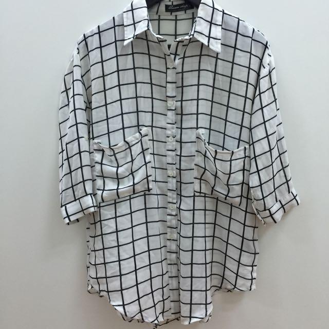 紗襯衫(消費500直送)