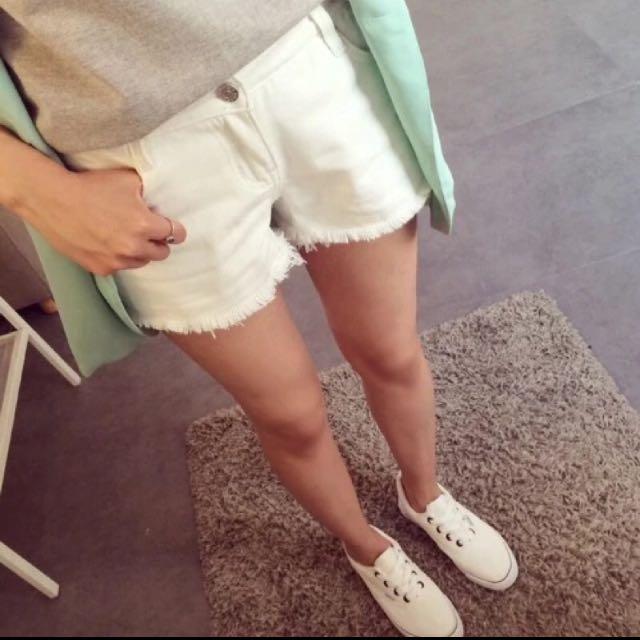 全新 小白褲
