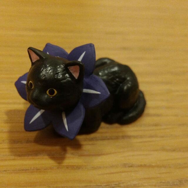 花圈 貓 扭蛋 花