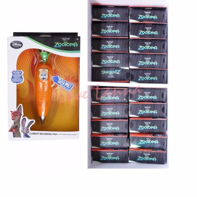 全新 正版 動物方城市 Zootopia 茱蒂兔 Judy Hopps 玩具 胡蘿蔔 錄音筆 可錄音