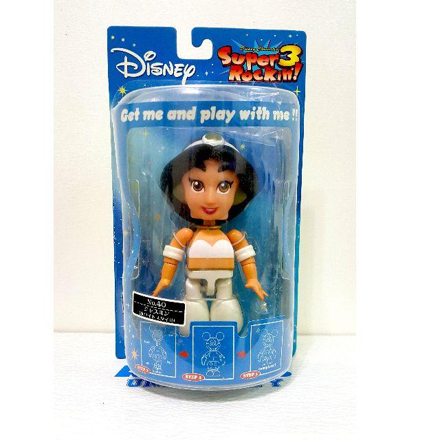 迪士尼 Disney Super Rockin 公主系列 茉莉公主 禮服版