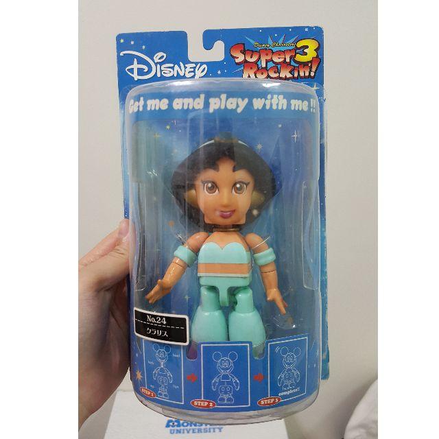 迪士尼 Disney Super Rockin 公主系列 茉莉公主 原色版