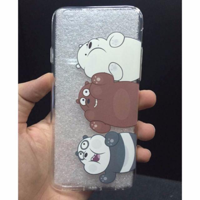 「現貨」 we bare bears  熊熊遇見你 手機殼 iphone Ice Bear Grizzly Panda