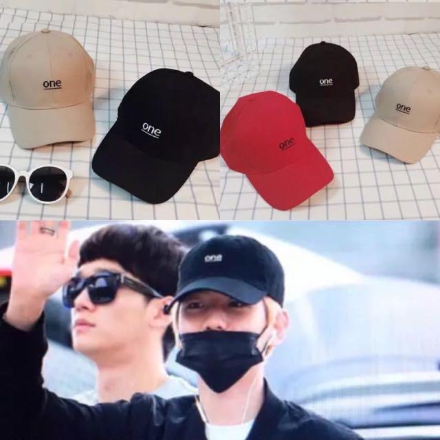 Baseball Cap   One Cap   Korean Cap   Baekhyun Cap   Exo Cap   Exo ... 0f4c142cc75
