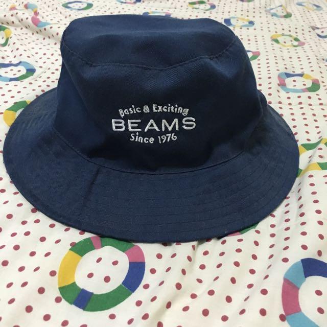 BEAMS漁夫帽(深藍)