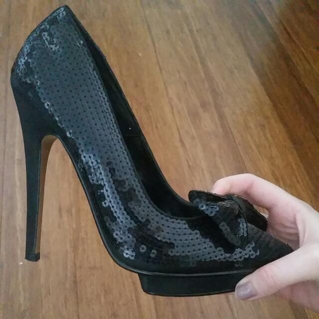 Betts Size 7 Sequin Heels