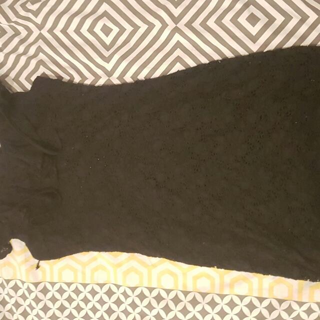 Black Xcepsion Dress.