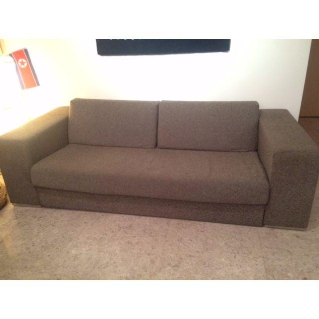 Brown Sofa Modern Art Deco Furniture On Carousell