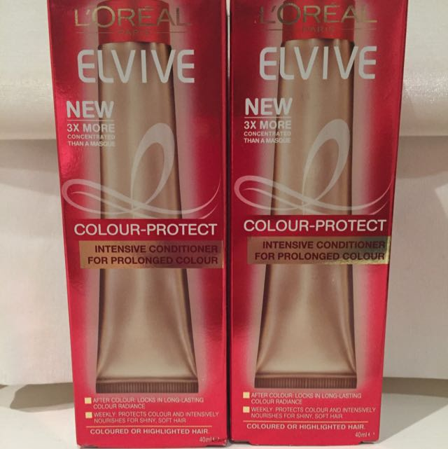 Elvive Colour Protect Intensive Conditioner x2