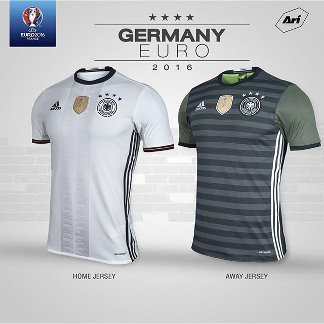 0c38434b6 Germany 2016-2017 Home Away Soccer Jersey