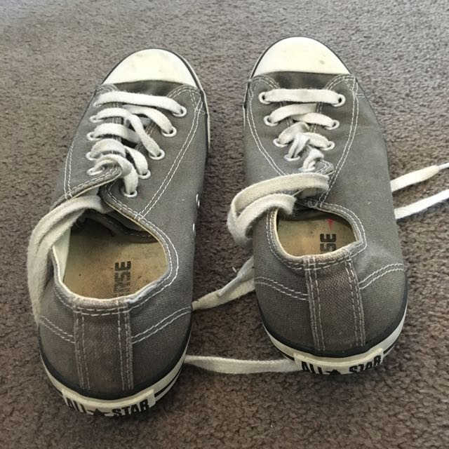 Grey Converse Size 7