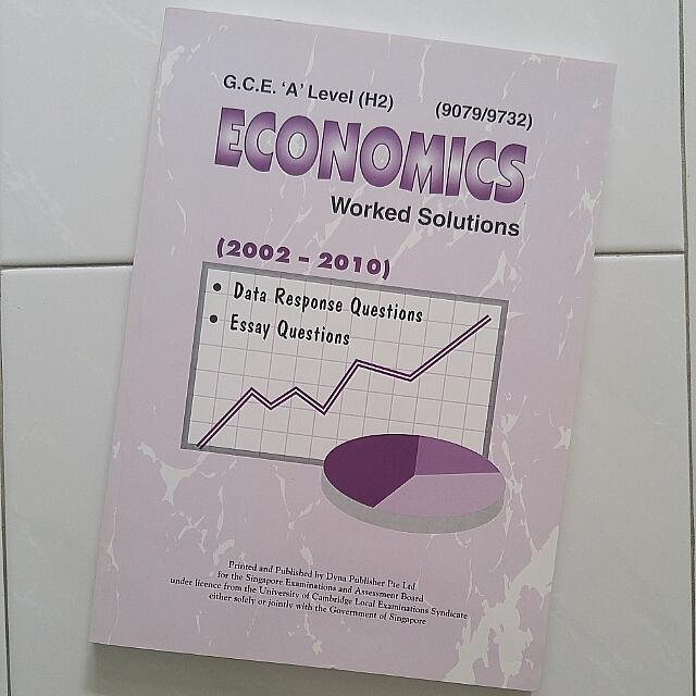 (Clearance) H2 Economics Worked Solutions