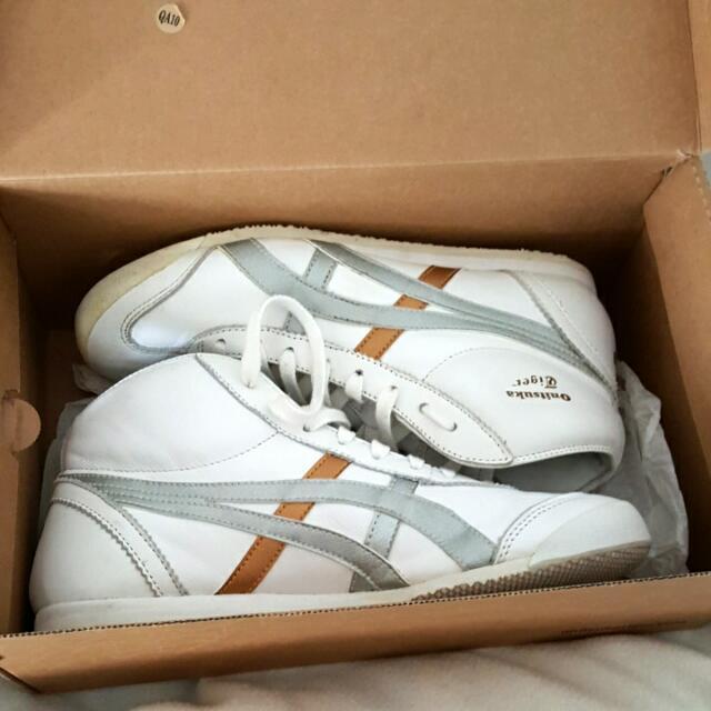 Hi Tops Onitsuka Tigers White Bronze Silver