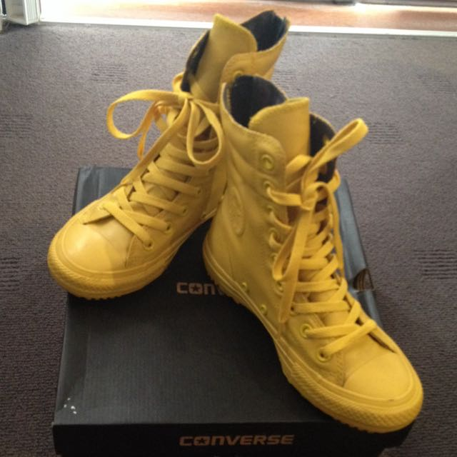 HI-Rise Boot Yellow Bird Converse Limited Edition
