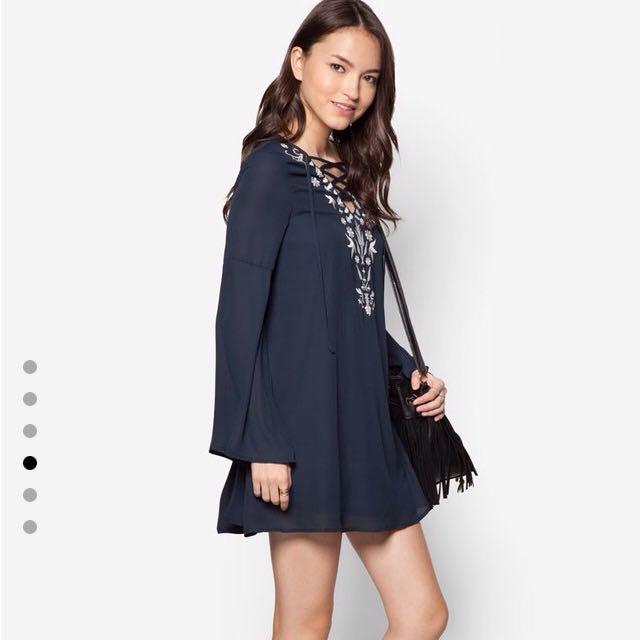 61ebdf60279e4 Love Lace Boho Swing Dress, Women's Fashion on Carousell