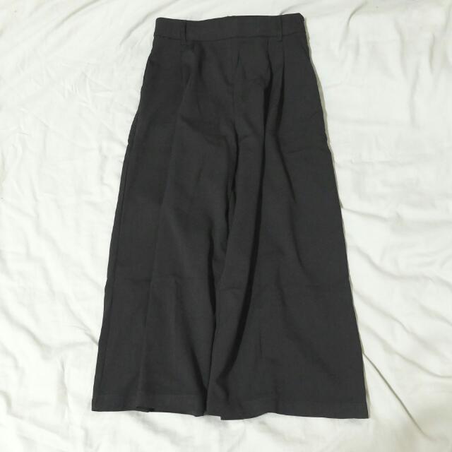 ⚡Meier q 黑色寬褲