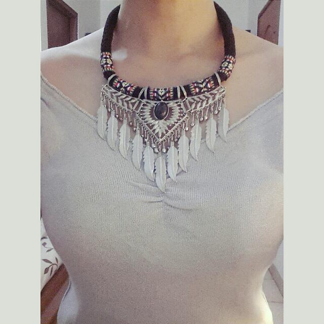 Navajo Bohemian Necklace