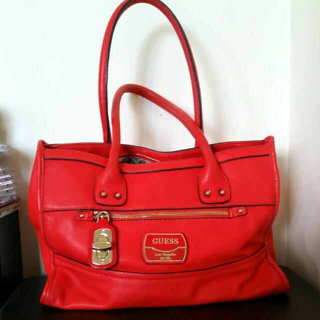 Orange Guess Handbag