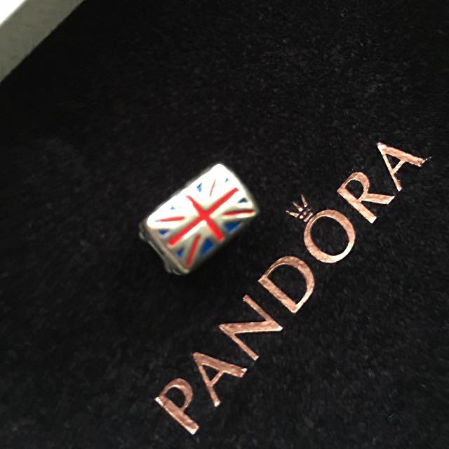 Pandora 墜飾 城市系列 英國 二手