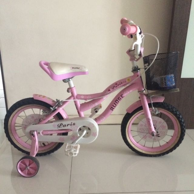 Pink Bicycle For 4-6 Yrs Old