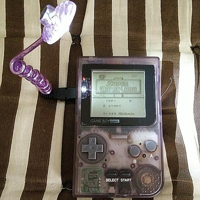 Selling Gameboy Pocket Purple Transparent Edition (Included